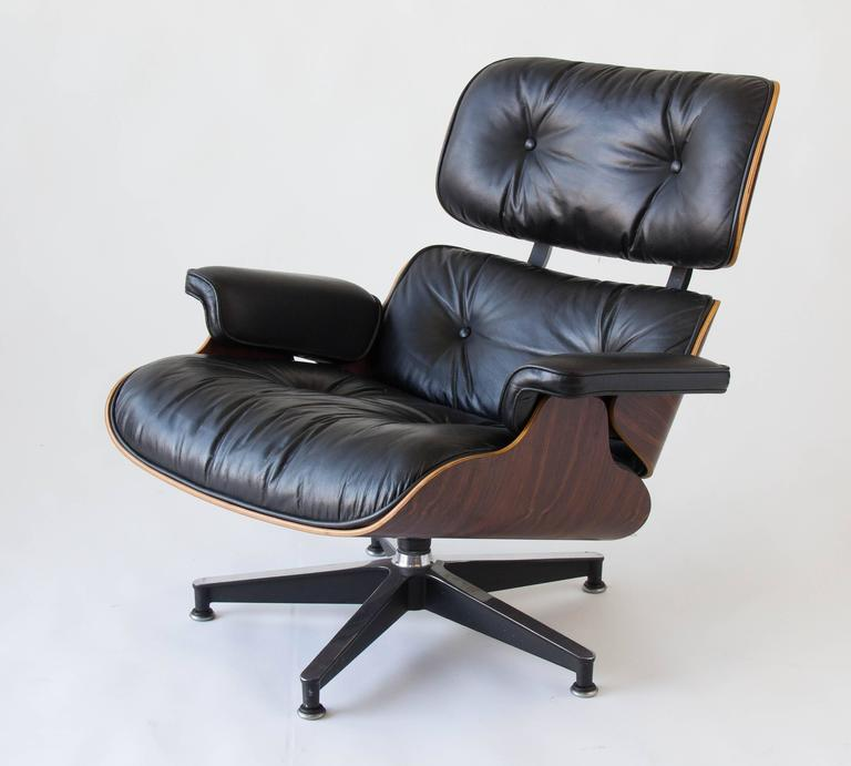 1970s Eames 670/671 Lounge Chair with Ottoman 5