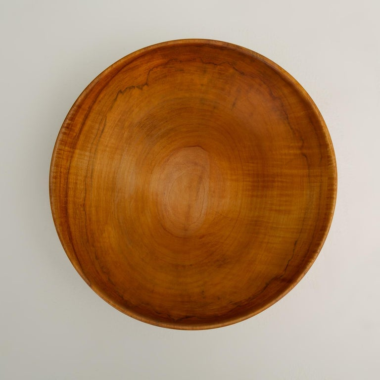Turned Maple Wood Bowl For Sale 4