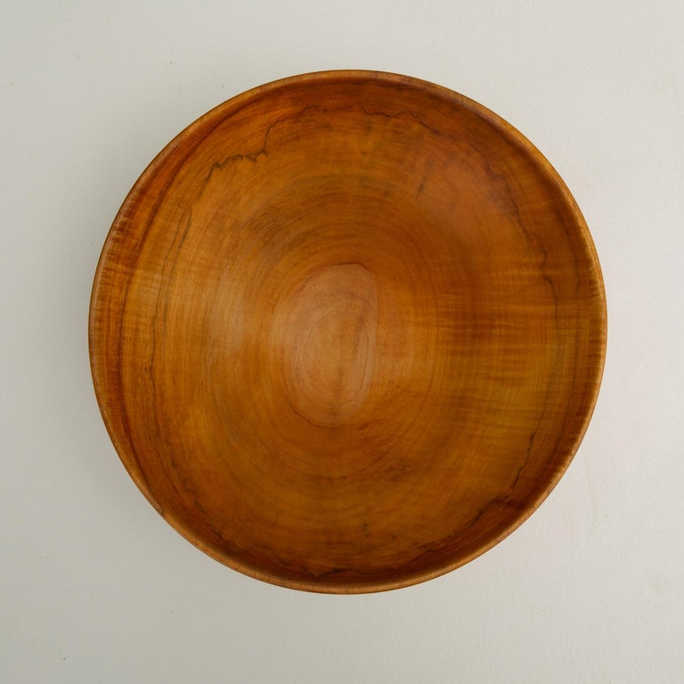 Turned Maple Wood Bowl For Sale 5