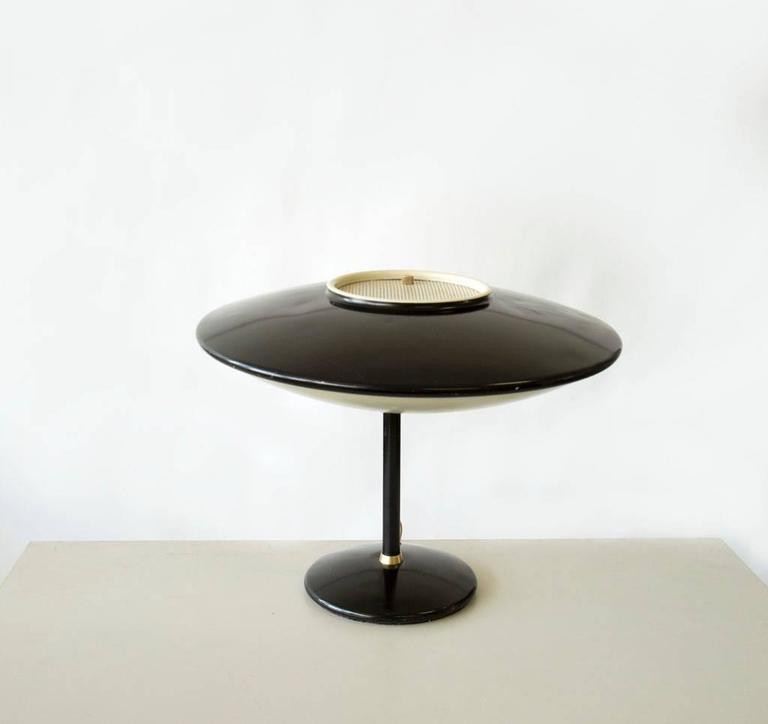 Dazor Model 2008 Saucer Desk Lamp At 1stdibs
