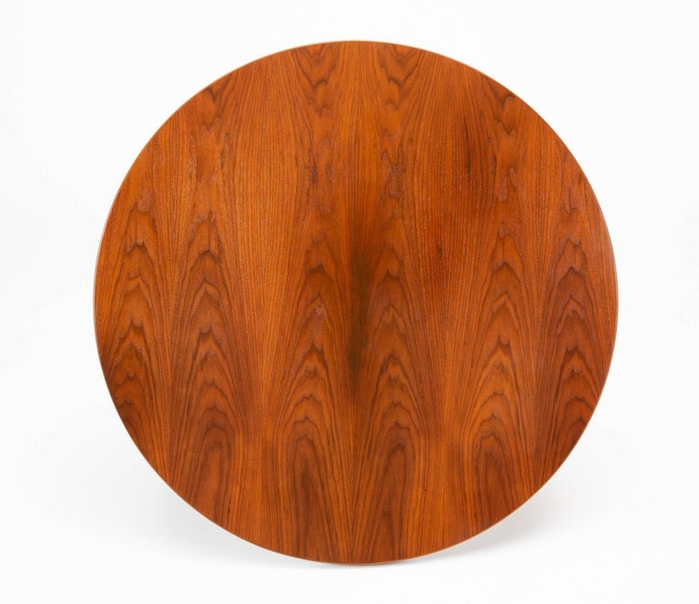 Jens Risom Lazy Susan Coffee Table For Sale 1