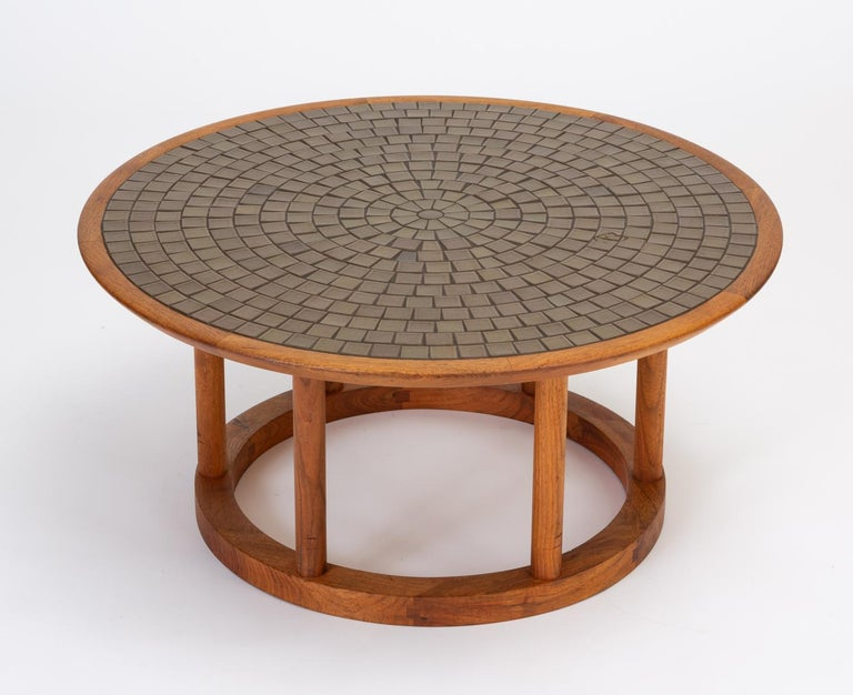 Mid-Century Modern Gordon & Jane Martz Round Coffee or Occasional Table for Marshall Studios For Sale