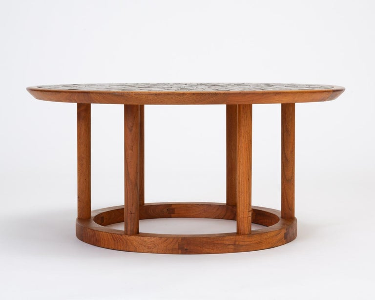 Gordon & Jane Martz Round Coffee or Occasional Table for Marshall Studios For Sale 4