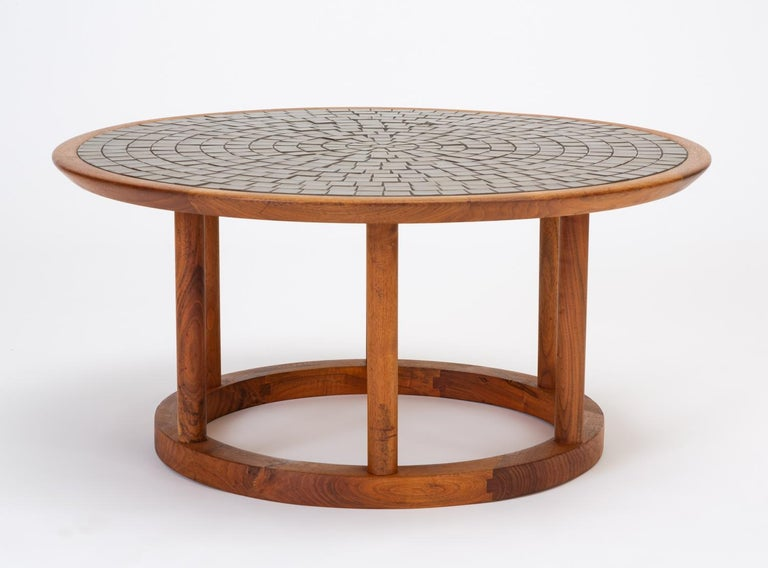 Gordon & Jane Martz Round Coffee or Occasional Table for Marshall Studios For Sale 2
