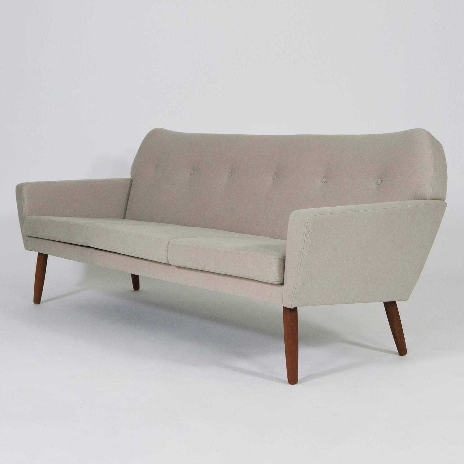 Mid century modern teak sofa danish design 1960s at 1stdibs for 1960s furniture designers