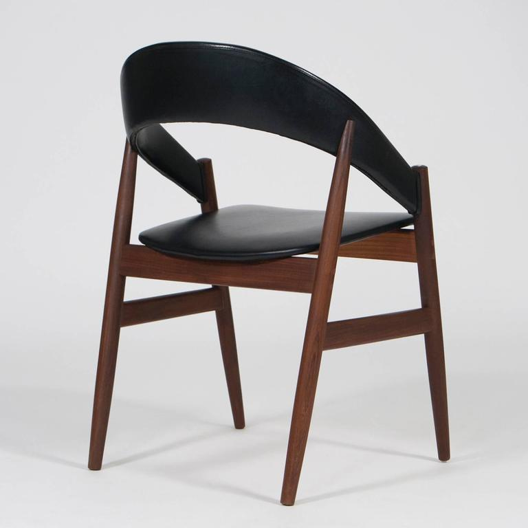 Organic Teak Chair Mid Century Modern Design Denmark