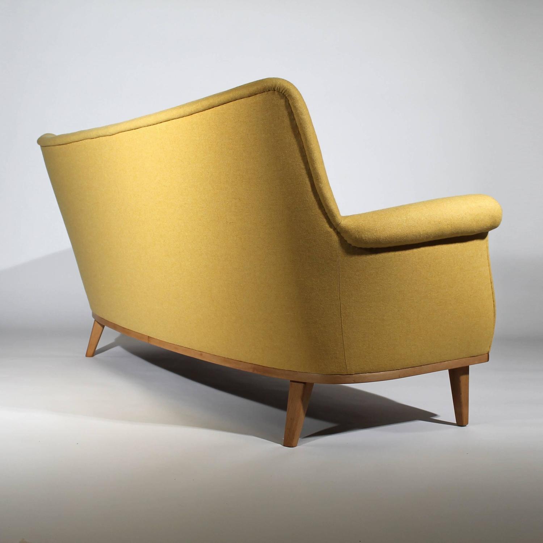 deluxe mid century modern design sofa germany 1950s at 1stdibs. Black Bedroom Furniture Sets. Home Design Ideas