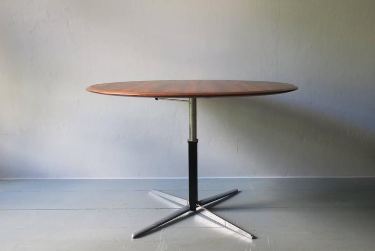 Striking Rosewood Adjustable Center Table Or Coffee Table