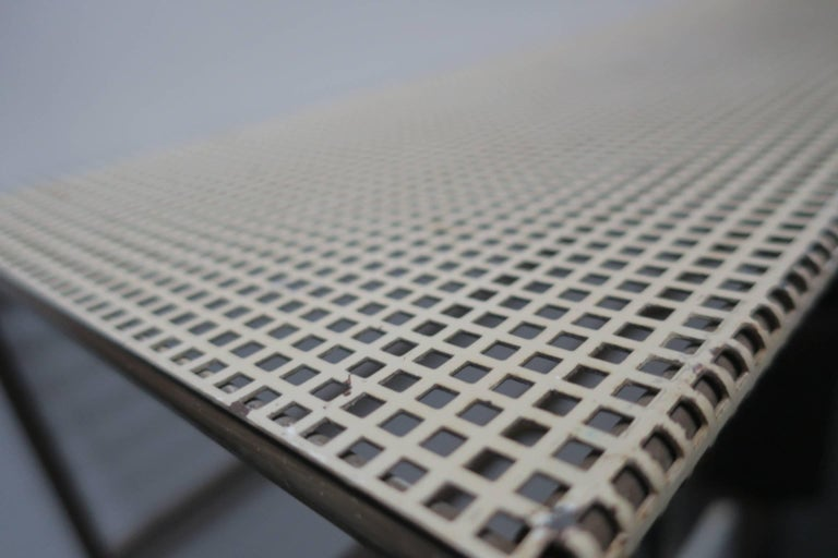 Perforated Metal Coat Rack Mid-Century For Sale 5