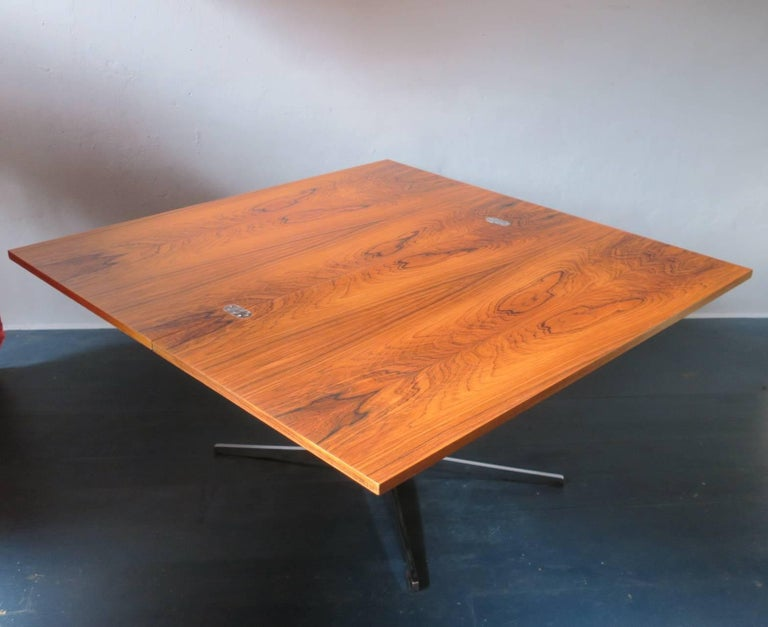 Multi Purpose Rosewood Dining Coffee Table By Wilhelm Renz
