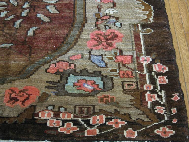 Vintage Large Room Size Turkish Rug For Sale At 1stdibs