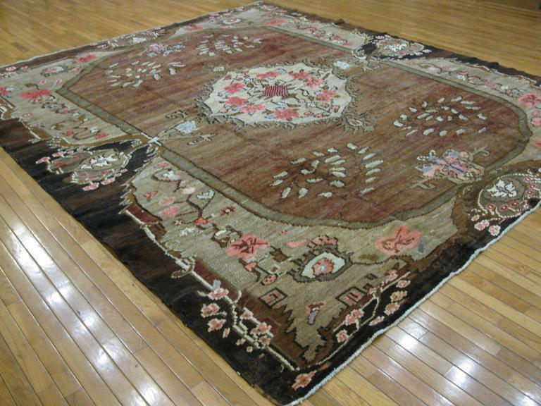 Vintage Large Room Size Turkish Rug For Sale At 1stdibs