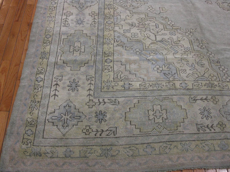 Large Room Size Turkish Oushak Rug For Sale At 1stdibs