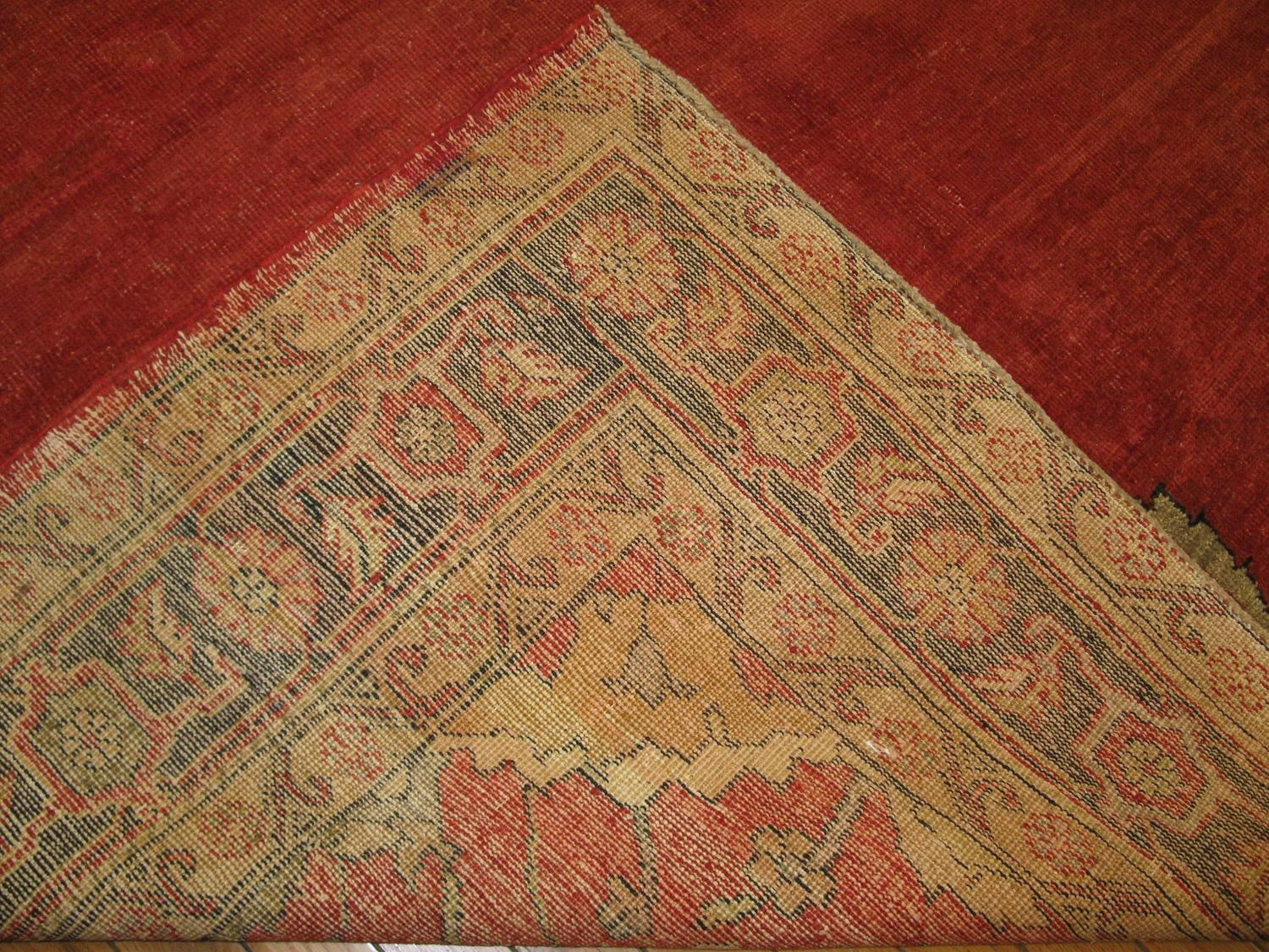 Large Hand Knotted Traditional Turkish Rug For Sale At 1stdibs