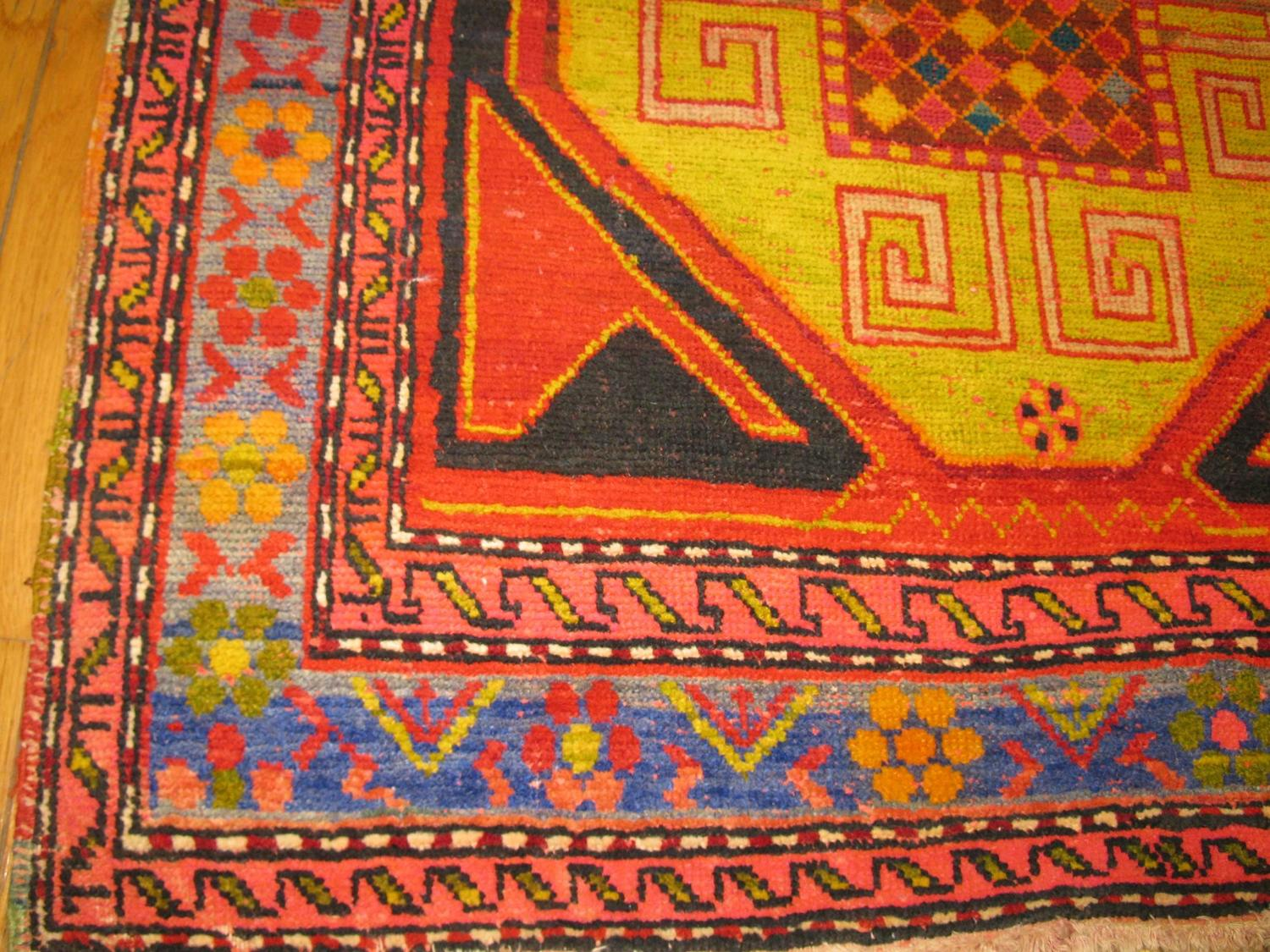 Small Hand Knotted Turkish Rug For Sale At 1stdibs