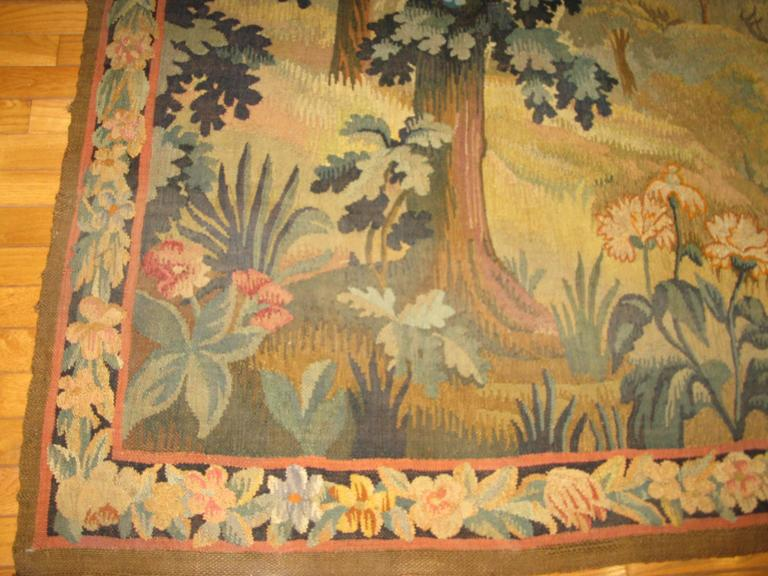 Large Antique French Tapestry For Sale At 1stdibs