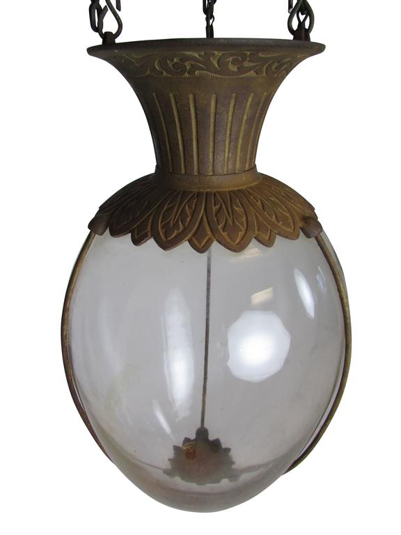 Victorian Pair of Drugstore Glass Show Globes