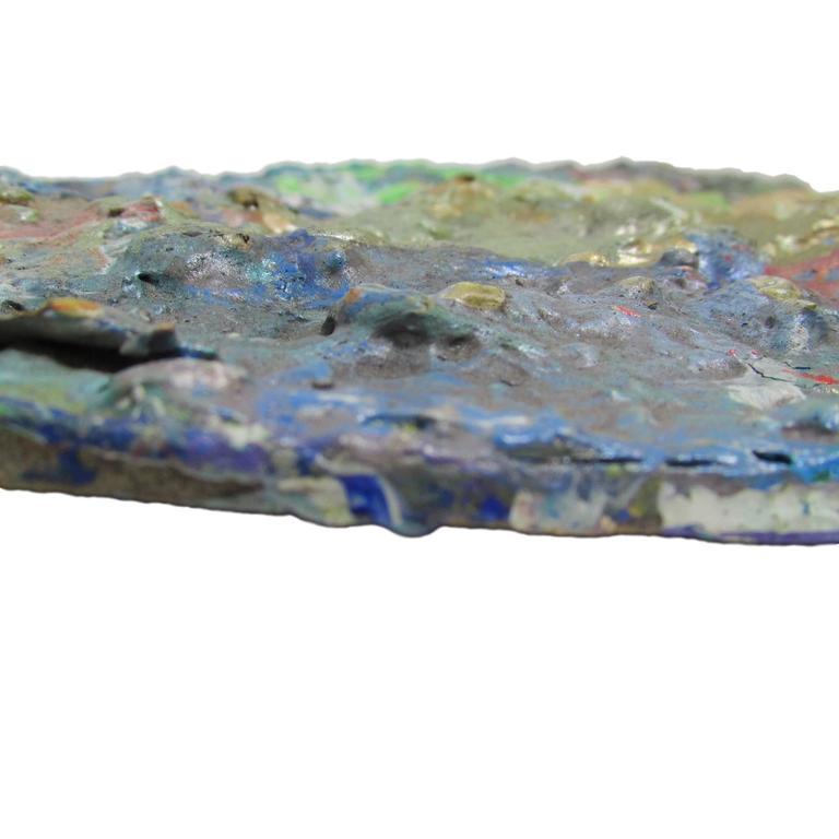 Masonite Large Artist's Paint Palette