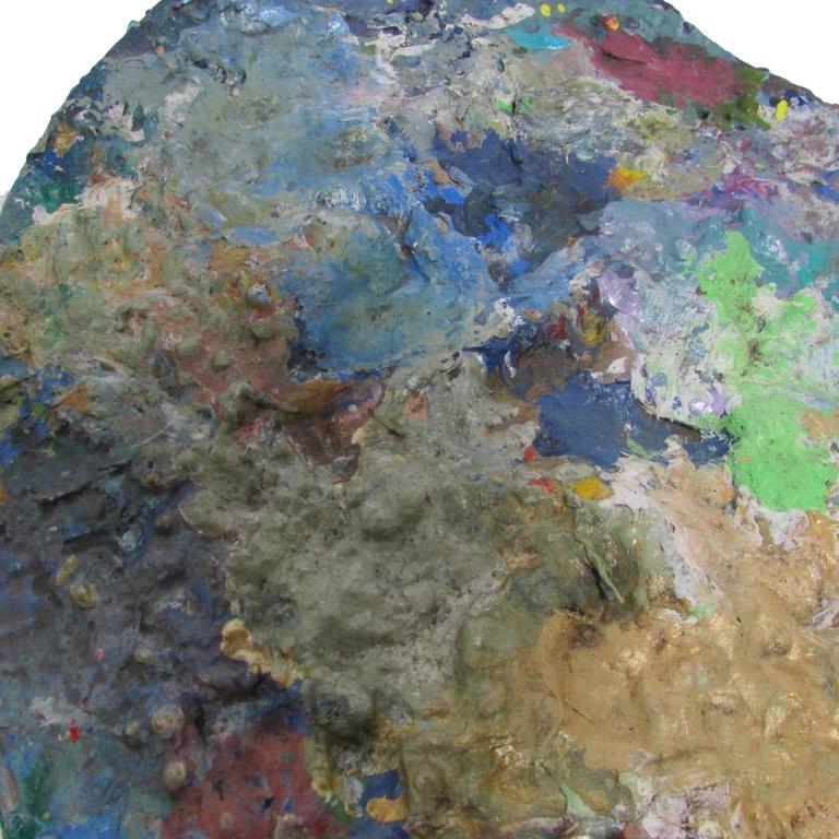 20th Century Large Artist's Paint Palette