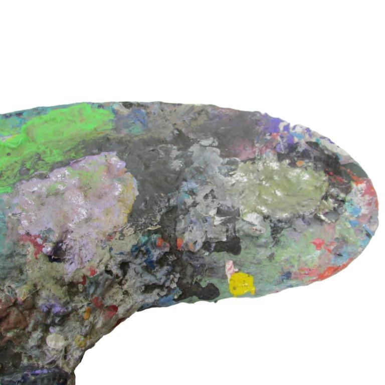 Modern Large Artist's Paint Palette