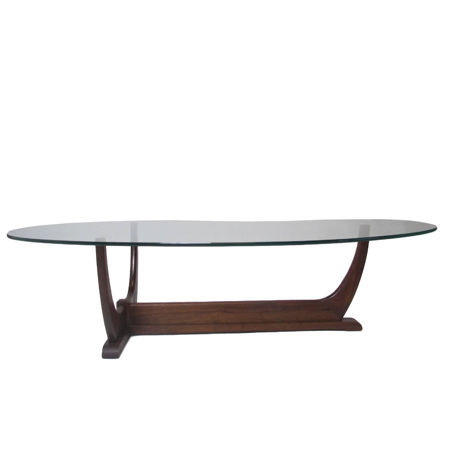 Mid Century Modern Tripod Coffee Table At 1stdibs
