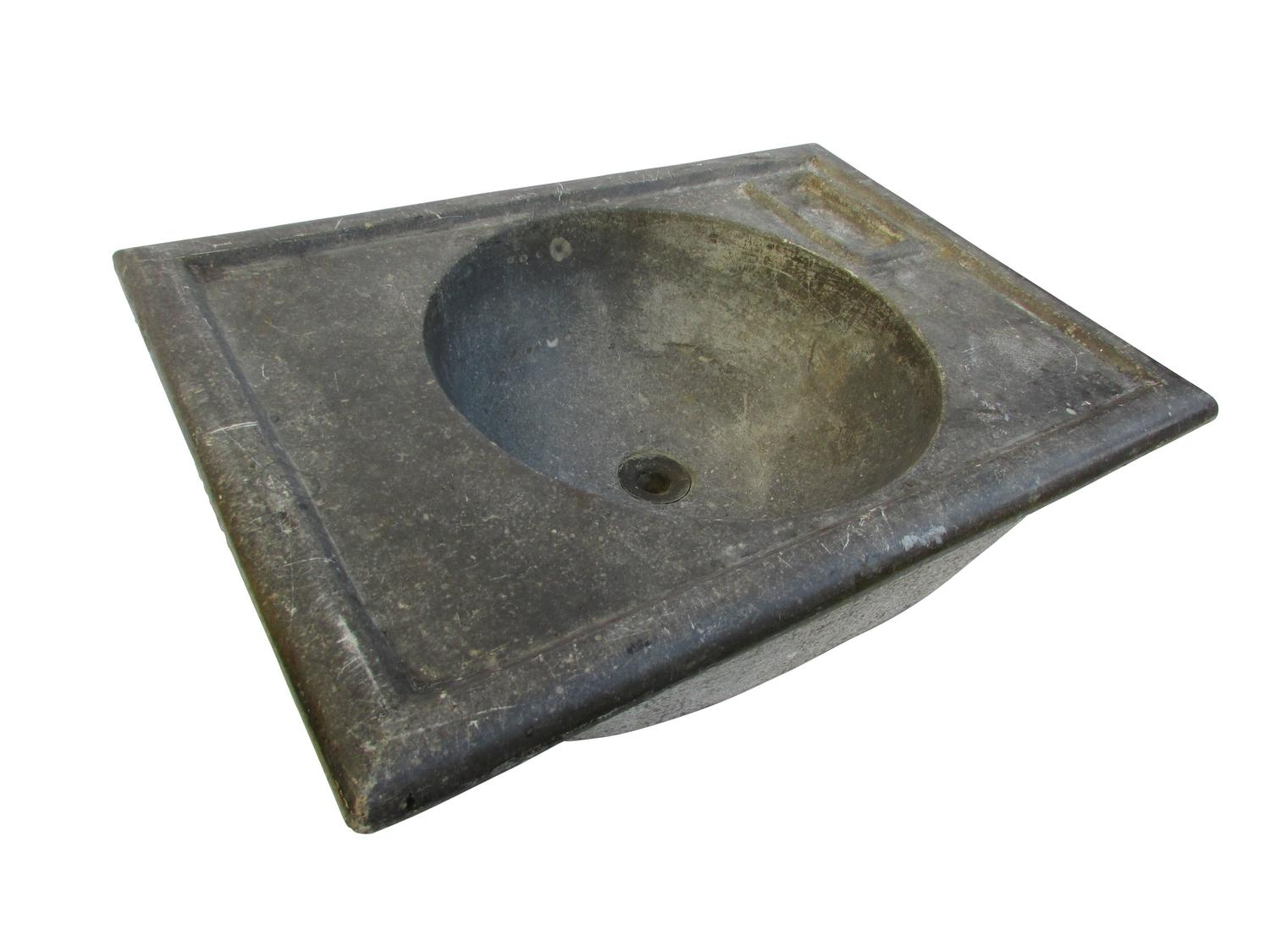 Soapstone Sink : Turn of the Century Soapstone Sink at 1stdibs