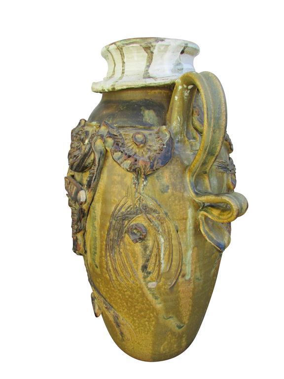"""Midcentury Ceramic """"Pot"""" Vase 5"""
