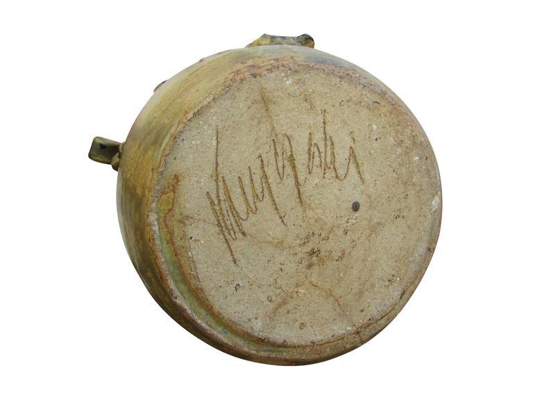 """Midcentury Ceramic """"Pot"""" Vase 9"""