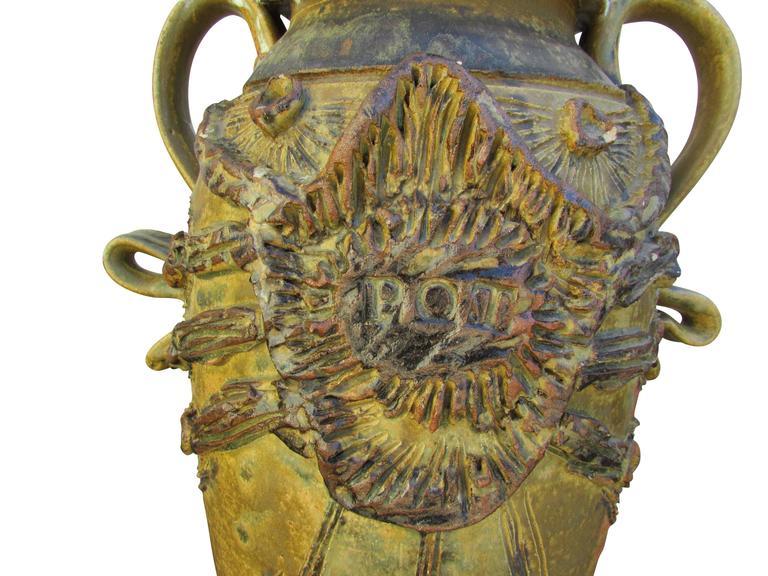"""Midcentury Ceramic """"Pot"""" Vase 2"""