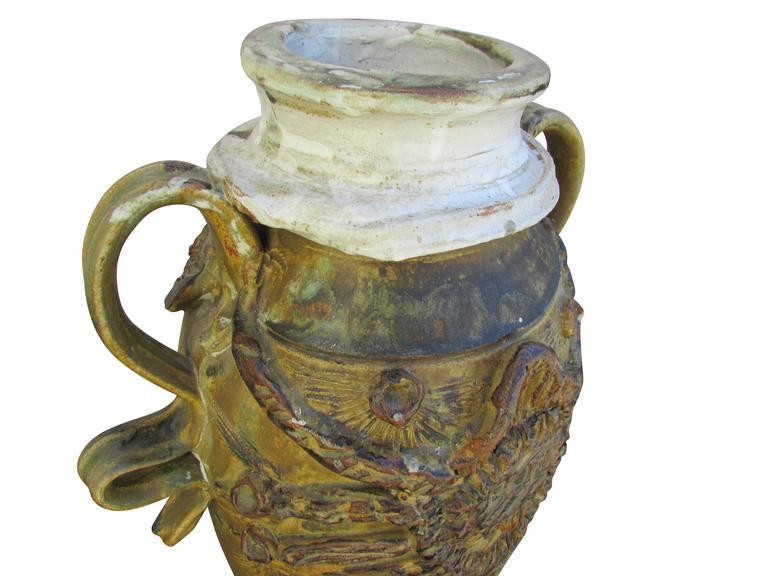 """Midcentury Ceramic """"Pot"""" Vase 7"""