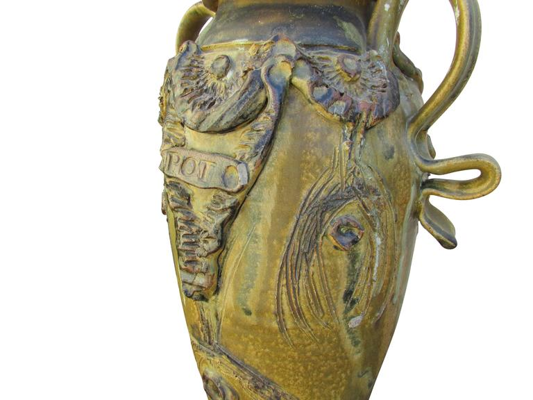 """Midcentury Ceramic """"Pot"""" Vase 6"""