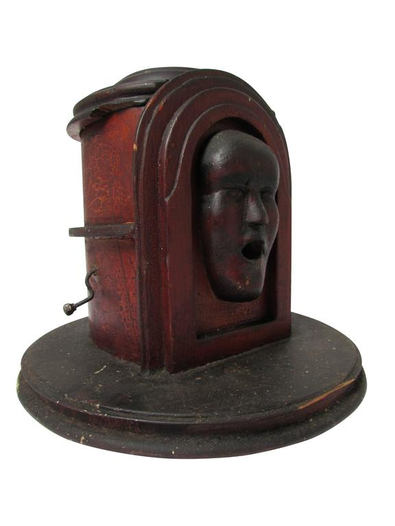American Folk Art Cigarette Dispenser