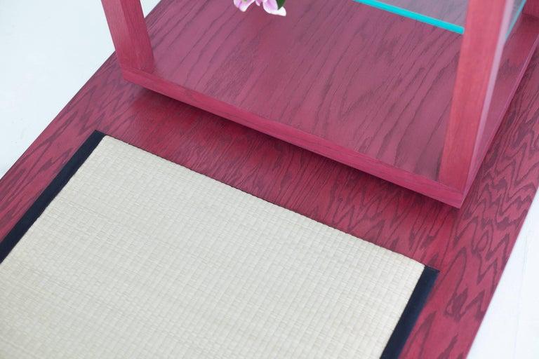 Room for Ritual, Meditation Shrine with Shelves, Tatami Mat and Handmade Rug 5