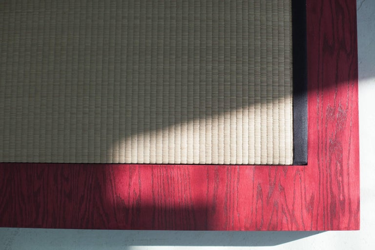 Room for Ritual, Meditation Shrine with Shelves, Tatami Mat and Handmade Rug 6