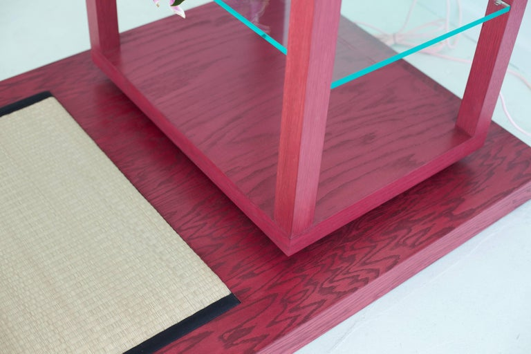 Room for Ritual, Meditation Shrine with Shelves, Tatami Mat and Handmade Rug 8