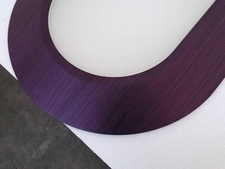 Dyed Dear John #3, a Pendant Lamp Tribute to John McCracken, Great Dining Table Light
