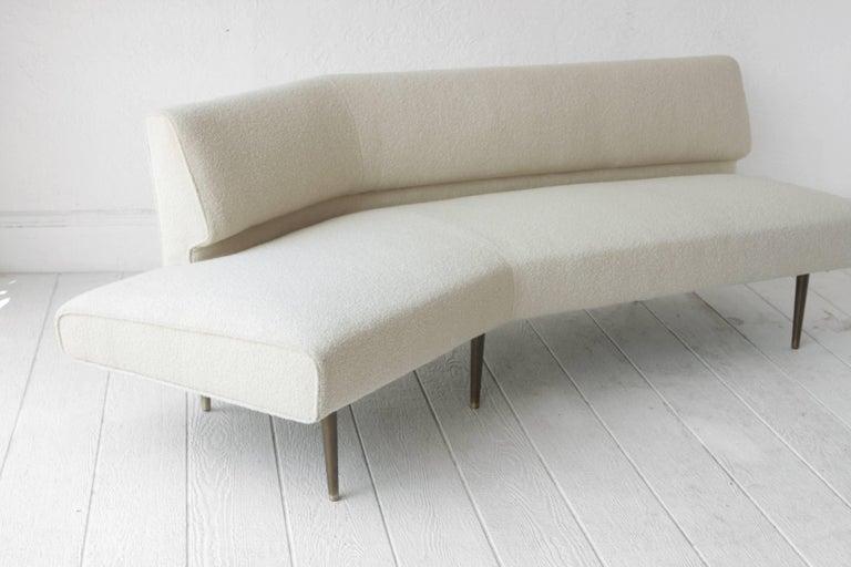 American Edward Wormley Channel Back Sofa for Dunbar For Sale