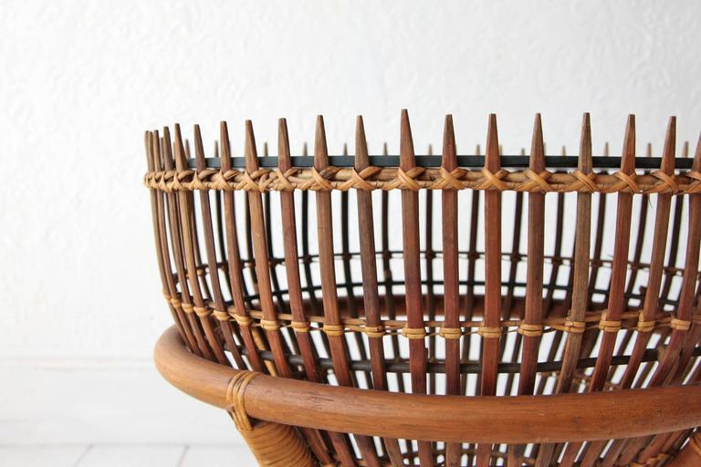 Two Franco Albini Style Fish Trap Side Tables at 1stdibs : 1stalbinis10l from www.1stdibs.com size 768 x 512 jpeg 54kB
