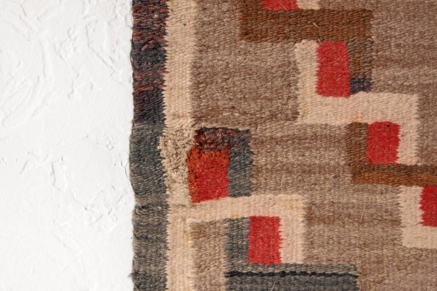 Rare Antique Navajo Rug At 1stdibs