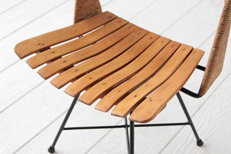 Arthur Umanoff Swivel Desk Chair Midcentury Minimalist At