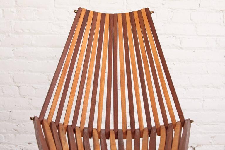 Dirk Van Sliedrecht Chair Rohé Noordwolde In Good Condition For Sale In Brooklyn, NY