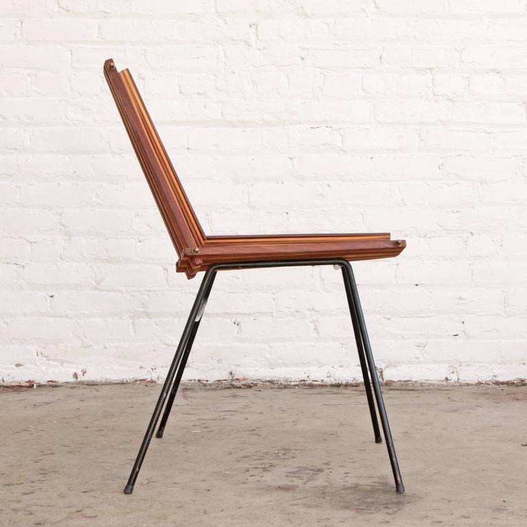 Mid-Century Modern Dirk Van Sliedrecht Chair Rohé Noordwolde For Sale