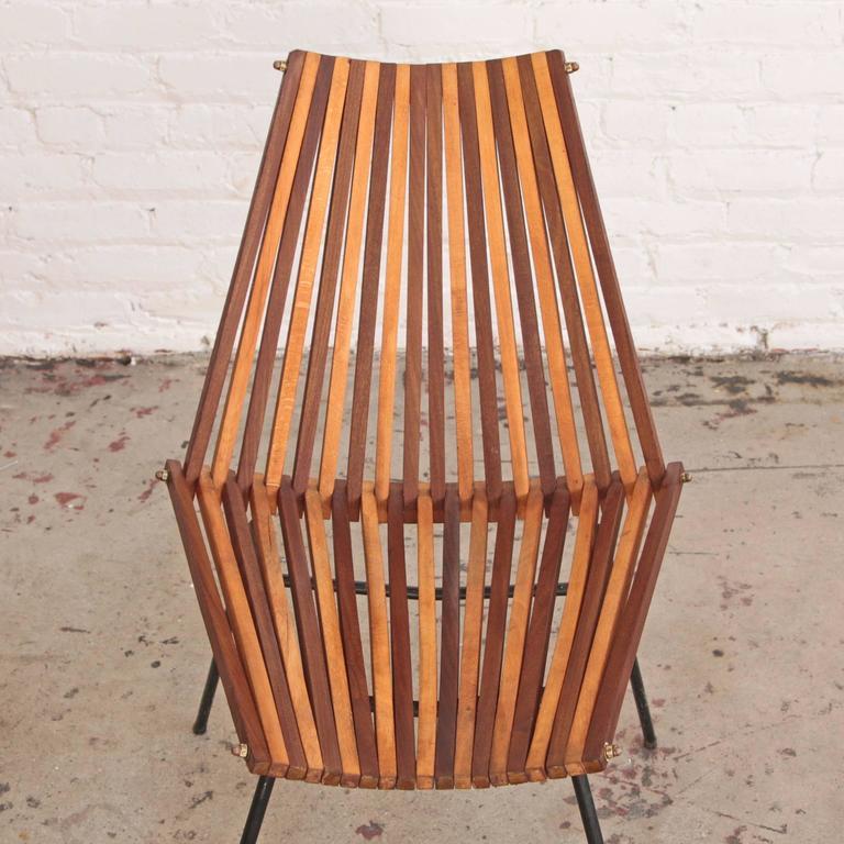 20th Century Dirk Van Sliedrecht Chair Rohé Noordwolde For Sale