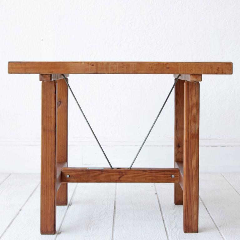 Swedish Elsa Stackelberg Redwood Patio Set, Sweden For Sale