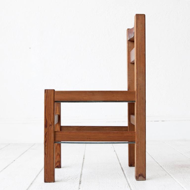 Elsa Stackelberg Redwood Patio Set, Sweden For Sale 1