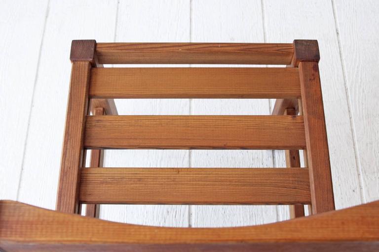 Elsa Stackelberg Redwood Patio Set, Sweden For Sale 2