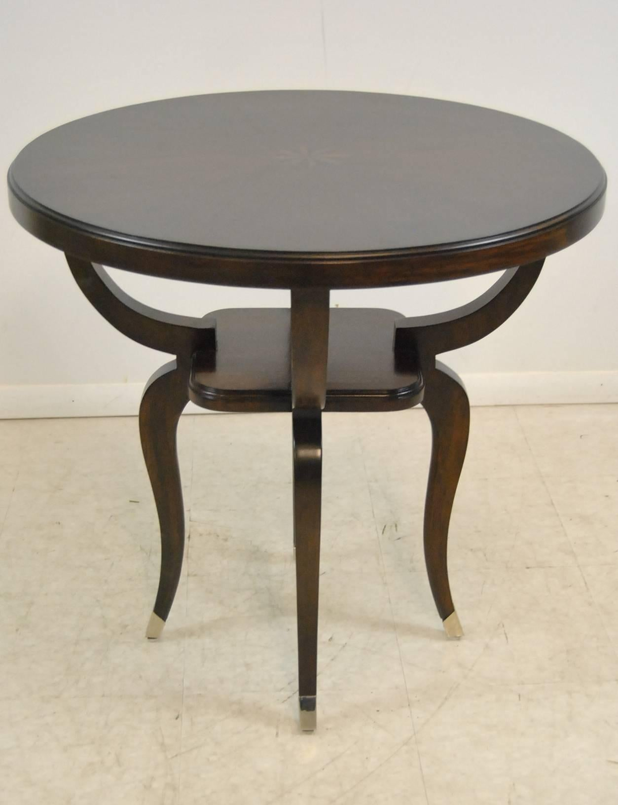 Walnut Parisian End Table With Inlaid Top By Robb U0026 Stucky 2 Part 90