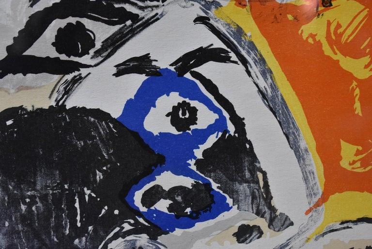 Mid-20th Century Pablo Picasso Lithograph Print