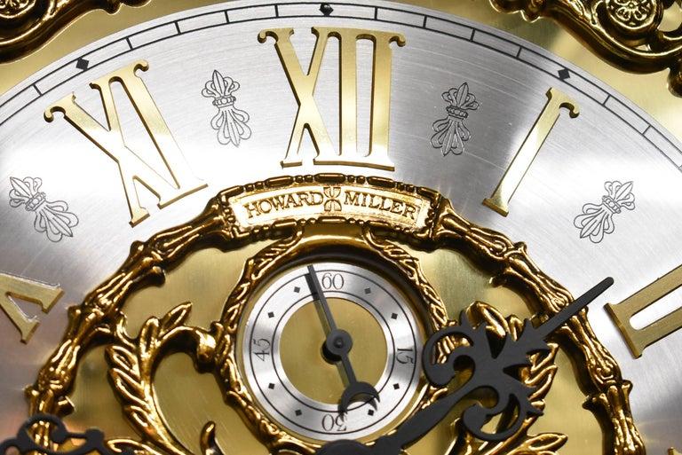 J.H. Miller Grandfather Floor Clock Limited Edition Howard Miller 611-030 T For Sale 2