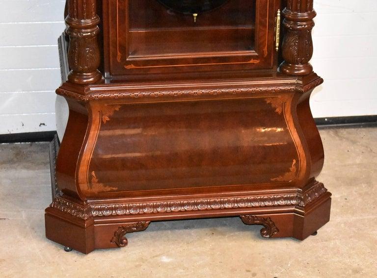 J.H. Miller Grandfather Floor Clock Limited Edition Howard Miller 611-030 T For Sale 1